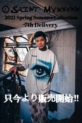 ©️SAINT M××××××(セントマイケル) 2021SSコレクションの新作Tシャツとショーツを只今より通販・店舗にて同時販売開始!!