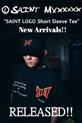 ©️SAINTM×××××× Clothing 21SS New T-shirt is now on sale at the same time!!