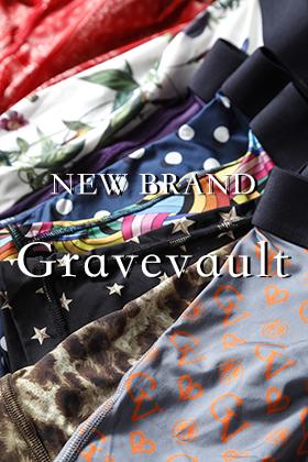 新ブランドgravevault(グレイブボールト)のお取り扱いをスタート致しました!