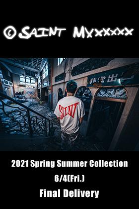 ©️SAINTM××××××× Clothing 21SS finally stocked T-shirt will be sold tomorrow!!