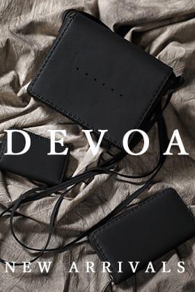 DEVOA(デヴォア)から期中アイテムが入荷しました。