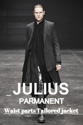 JULIUS パーマネントラインより「ウエストパーツ テーラードジャケット」についてご紹介!