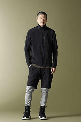 CIVILIZED Survival Track Jacket Black Style