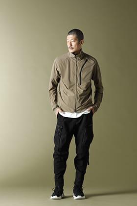 CIVILIZED Survival Track Jacket Khaki Style