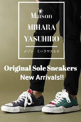 Maison MIHARAYASUHIRO 【Original sole Sneakers】Popular Item Notification of arrival!!