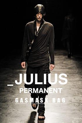JULIUS(ユリウス) パーマネント ガスマスクバッグのご紹介
