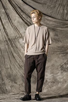 DEVOA 21 SS Summer Knit T-Shirt Styling