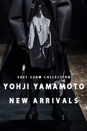 Yohji Yamamoto(ヨウジヤマモト) 21-22AWコレクションが入荷しました!
