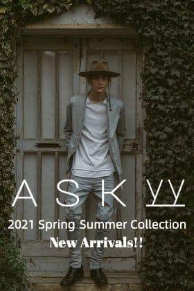 ASKyy(アスキー) 2021春夏コレクションより【スラッシュカットソー】が入荷しました!
