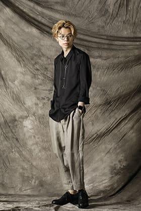 DEVOA Silk Wool Satin Shirt Style