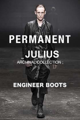 JLLIUS(ユリウス) パーマネントラインより「エンジニアブーツ」についてご紹介!