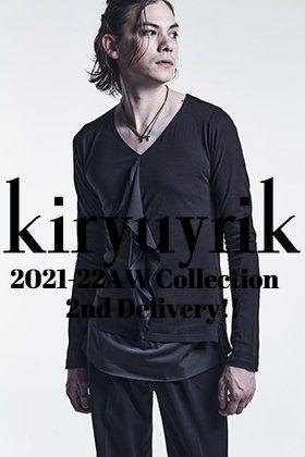 kiryuyki 2021-22AWコレクションより新作の入荷がございました!
