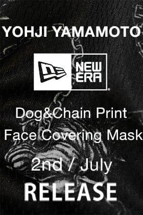 Yohji Yamamoto x New Era Dog & Chain Mask will be on sale Friday, July 2nd!