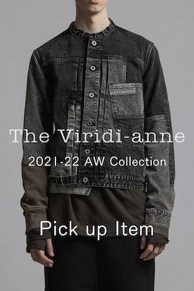 The Viridi-anne (ザヴィリディアン) 21-22秋冬コレクション×ISAMU KATAYAMA BACKLASH ピックアップブログ