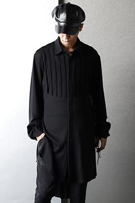 kiryuyrik(キリュウキリュウ) 2021-22秋冬 新作を使ったブラックスタイル