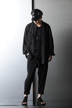 nude:masahiko maruyama(ヌード マサヒコマルヤマ) ブラック サマースタイリング