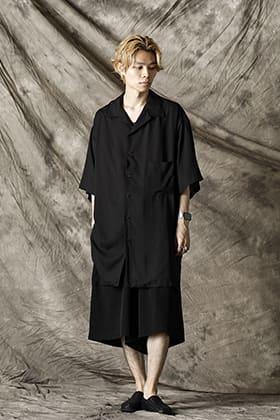 Yohji Yamamoto 21-22AW ブラックアロハスタイル