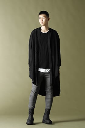 JULIUS(ユリウス) 21PF ローブシャツ スタイル