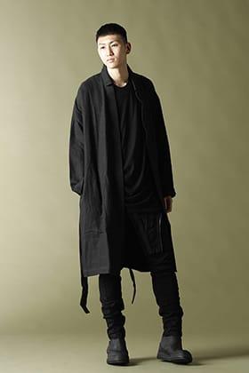 JULIUS(ユリウス) 21PS ツイステッド Tシャツ スタイル