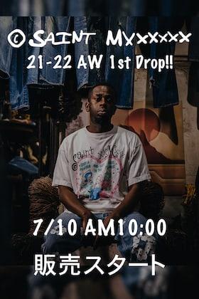 ©️SAINT M××××××-セントマイケル 21-22AW Collection 7/10(土) AM10時より店頭、通販同時販売開始!