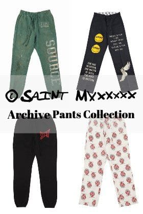 [Staff Column]Let's look back on the release items of ©️SAINT M××××××! Pants stitch.