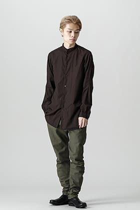 DEVOA 21-22AW Mao collar shirt style