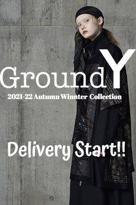 Ground Y 2021-22秋冬コレクションがデリバリー!只今より店頭・通販は共に販売を開始します!