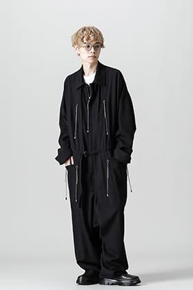 Yohji Yamamoto 21-22AW ジャンプスーツスタイル