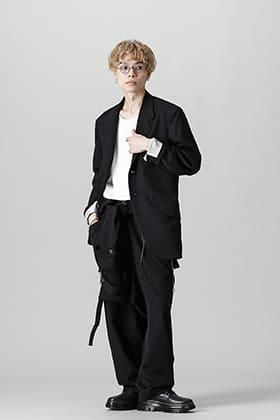 Yohji Yamamoto 21-22AW ジャンプスーツスタイル 応用編