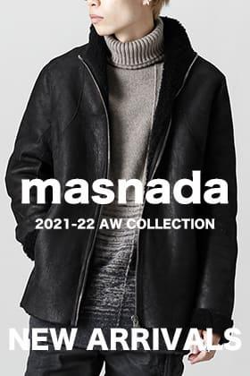 masnada(マスナダ)21-22AWコレクションが入荷しました