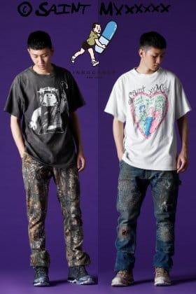 SAINT MICHAEL × INNOCENCE NY Reworked Pants 2 Styling