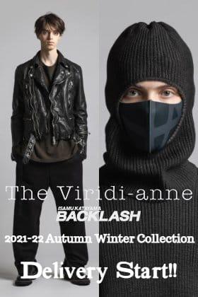 The Viridi-anneより2021-22秋冬コレクションのデリバリーが始まりました!