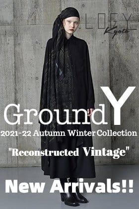 Ground Y 2021-22秋冬コレクション「Reconstructed Vintage」より新作アイテムが入荷!