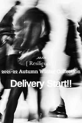 JULIUS(ユリウス) 2021-22秋冬コレクションよりデリバリーが開始されました!