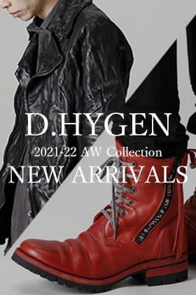 D.HYGEN 21-22AW(秋冬)  コレクションが入荷しました