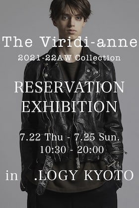 The Viridi-anne 2021-22 AW Collection Reservation Exhibition In.LOGY Kyoto