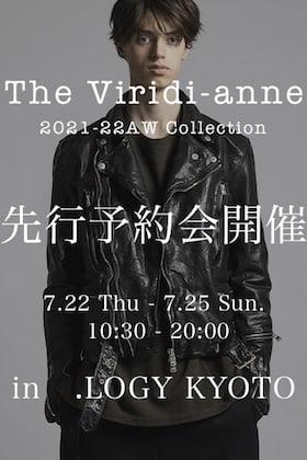 The Viridi-anne 2021-22AWコレクション先行予約会 in .LOGY Kyoto
