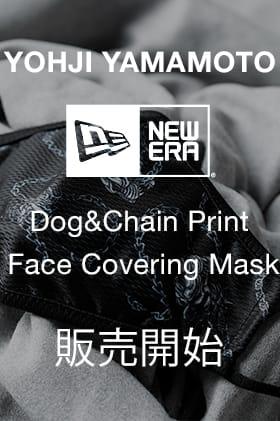 ヨウジヤマモト × ニューエラ ドッグ&チェーン マスク 販売開始です!