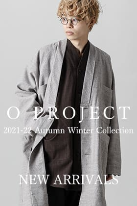 O project 21-22AW 最初の入荷がございました!