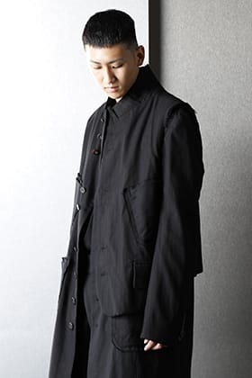 nude:masahiko maruyama 2021-22AW Aラインシルエットスタイリング