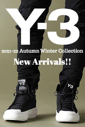 Y-3(ワイスリー) 2021-22秋冬コレクションより第2弾が到着しました!