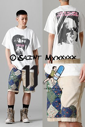 SAINT MICHAEL × INNOCENCE NY Summer Pants Style