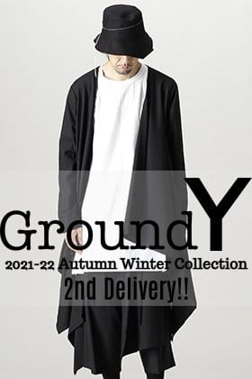Now in stock is the 2nd edition from the Fall and Winter collection Ground Y 2021-22 !!