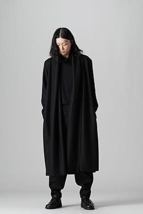 kujaku 2021-22AW Relaxed Silhouette Black Style