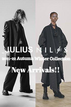 JULIUS & NILøS 2021-22秋冬コレクションより新作のデリバリーがございました!
