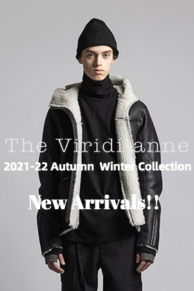 The second drop from The Viridi-anne 2021-22 autumn-winter collection is now available!