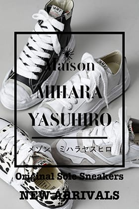 The new Original sole sneakers from Maison MIHARAYASUHIRO 2021-22 AW are now on sale!