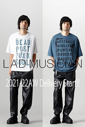 LOGY(Kyoto Fujii Daimaru) New Brand LAD MUSICIAN 2021-22AW Delivery Start!!