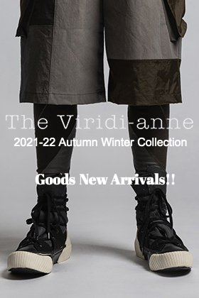 Goods from The Viridi-anne 2021 fall/winter collection -22 are now in stock!