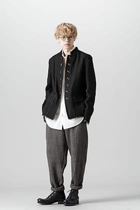 UMA WANG 21-22AW 7B Stand collar jacket style